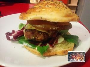 """Burger """"Vive la France"""""""
