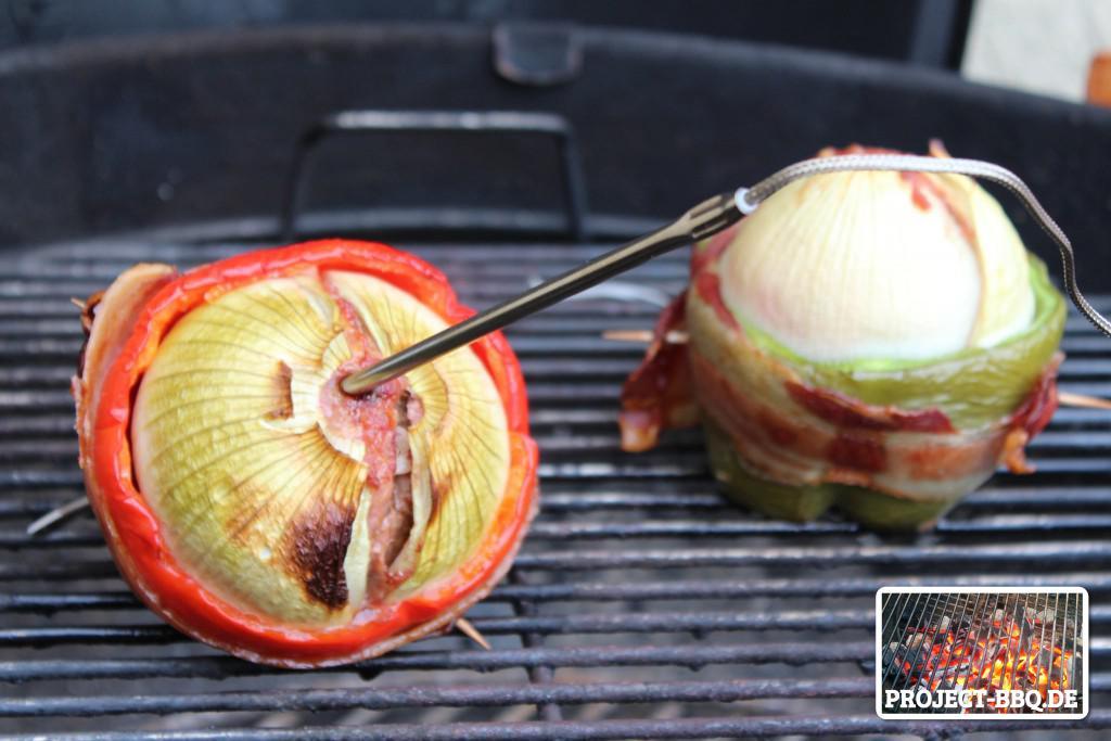 Onion Bomb mit Thermometer
