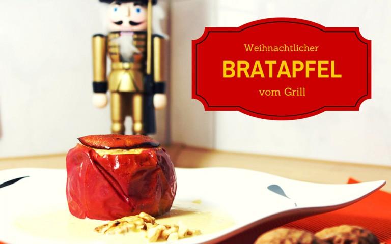 Bratapfel mit Marzipan-Mandel-Füllung