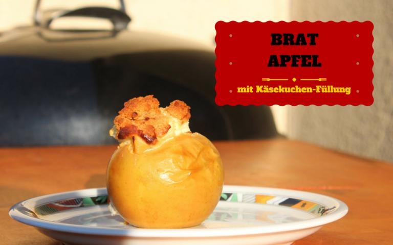 Bratapfel mit Käsekuchen-Füllung