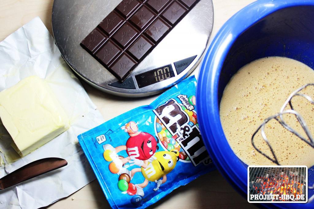 Zutaten Chocolade Bars