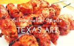 Schweinefilet-Spieße nach texanischer Art