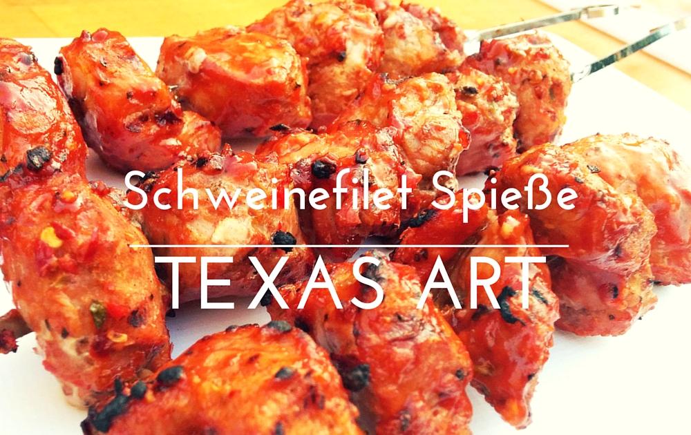 Schweinefilet-Spiesse Texas Art