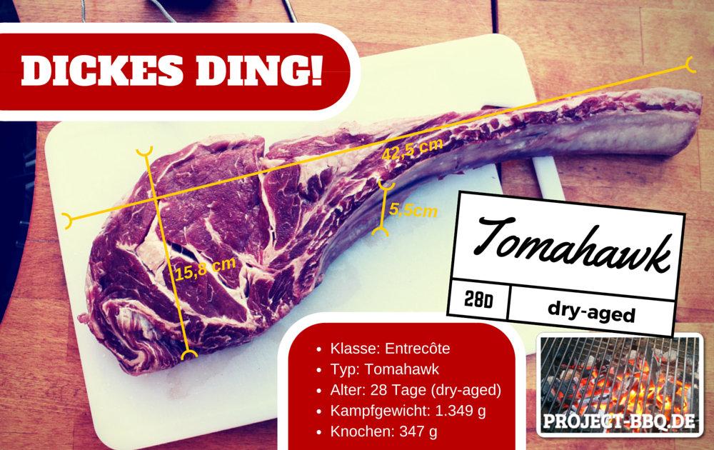 Das Tomahawk Steak - ein wirklich dickes Ding