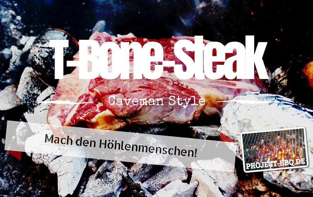 Caveman Style T-Bone-Steak
