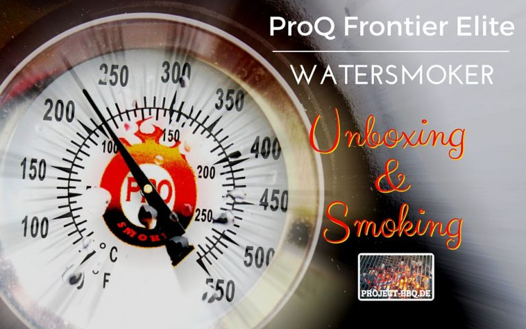 Test: Watersmoker ProQ Frontier