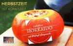 Hokkaido-Kürbis mit Walnuss-Gorgonzola-Füllung
