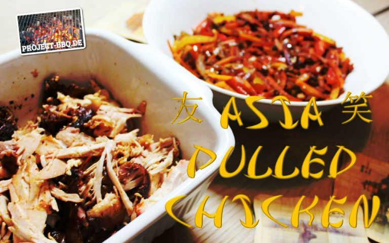 Asia Pulled Chicken