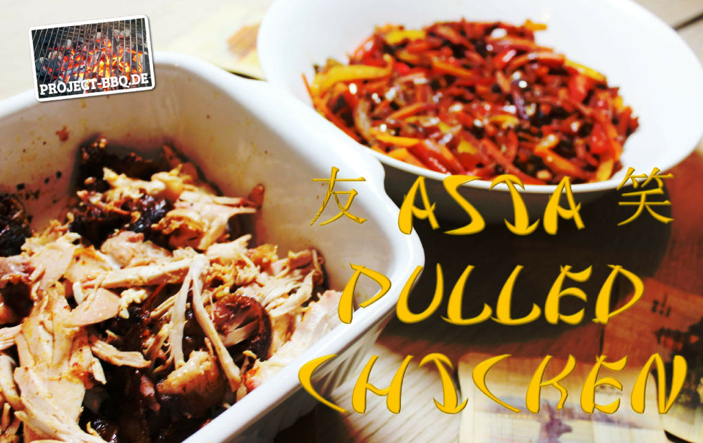 Leckeres Asia Pulled Chicken