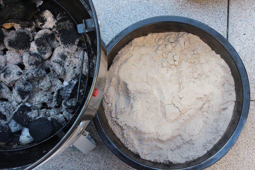 Sand als Wärmespeicher