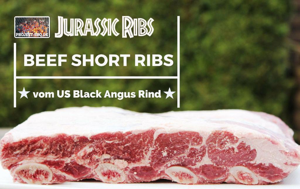 Beef Short Ribs vom Black Angus Rind