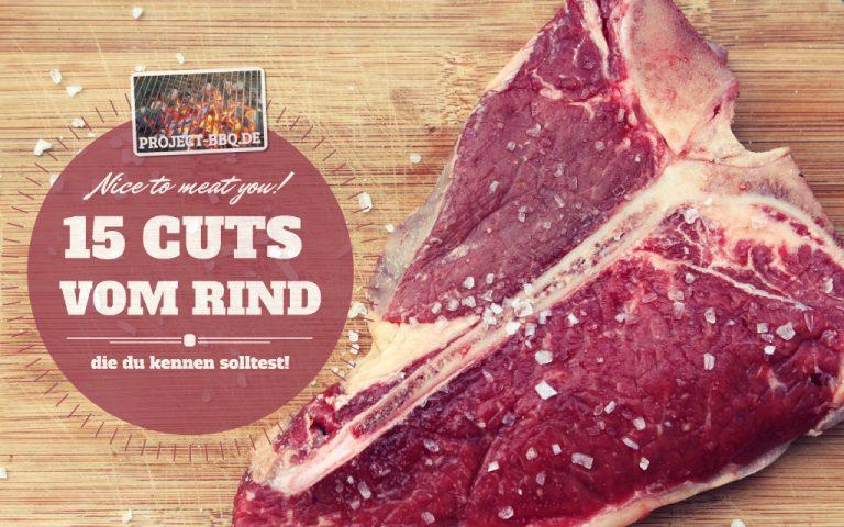 15 Cuts vom Rind die du kennen solltest
