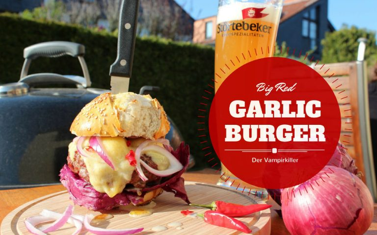Red Garlic Burger