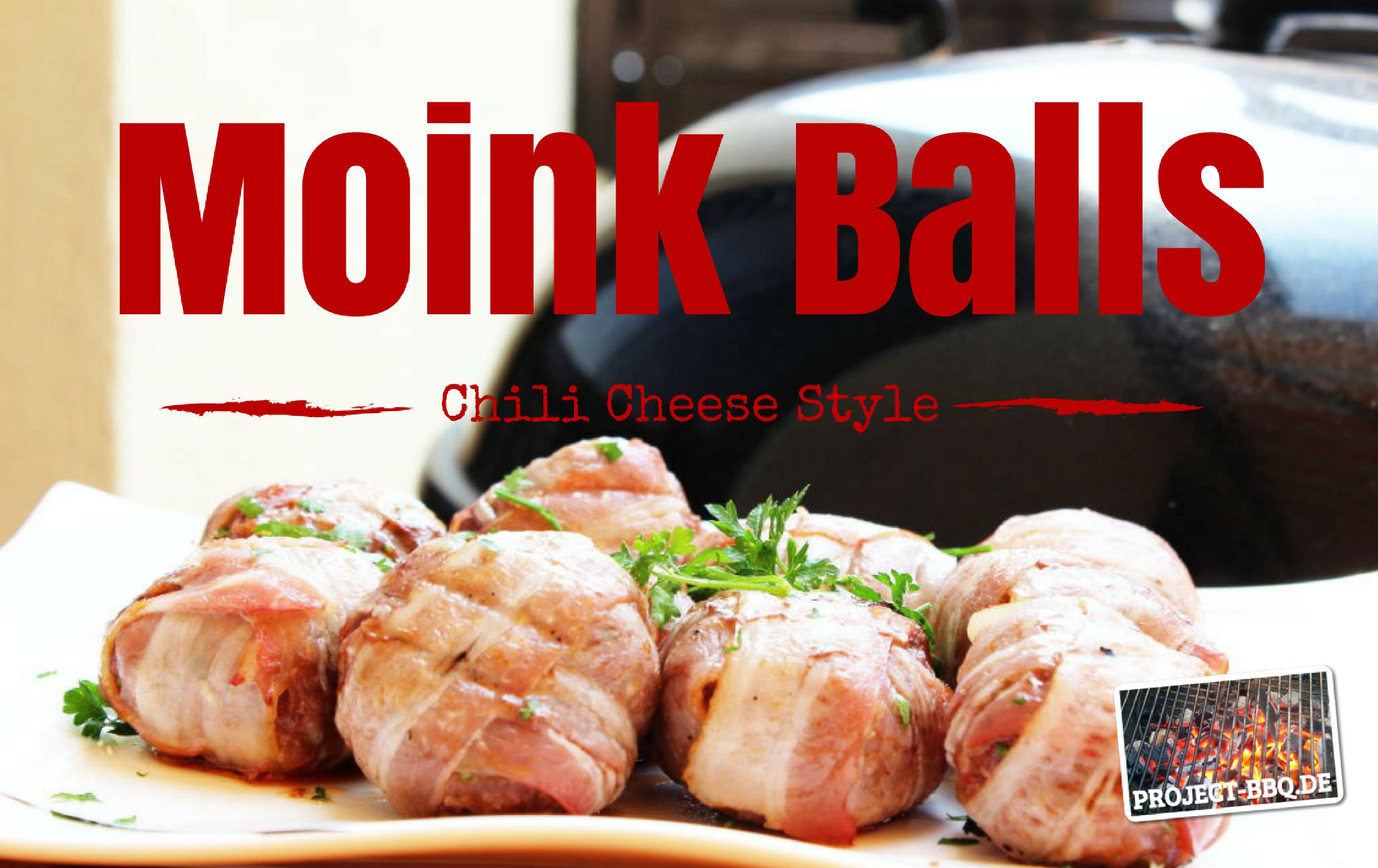 Chili Cheese Moink Balls