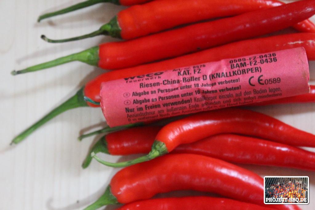 Chilis mit Böller