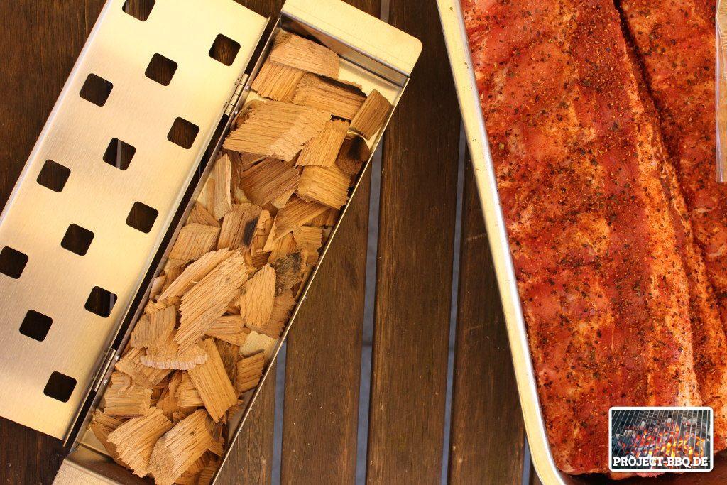 Räucherbox Für Gasgrill : Schnelle ribs vom gasgrill project bbq grill barbecue