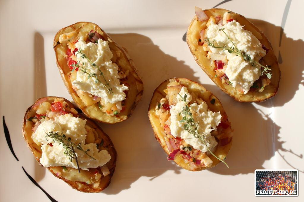 Fertige Tomaten-Feta-Kartoffeln