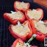 Polenta-Paprika indirekt grillen